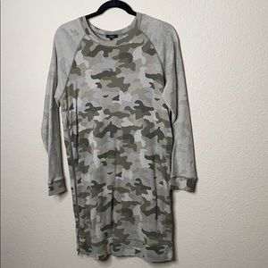 Rails Camouflage T shirt Dress